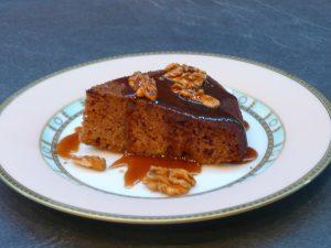 Gâteau aux dattes et caramel