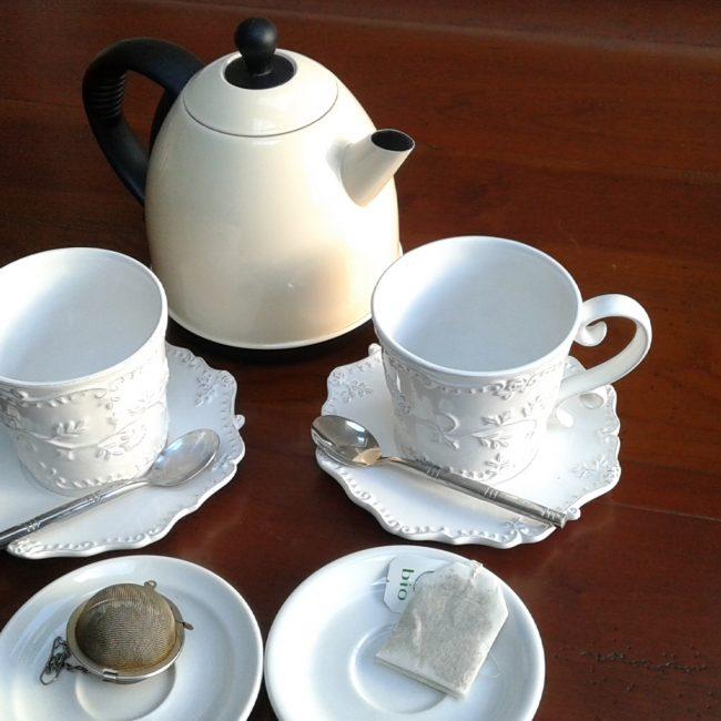 Préparation du thé