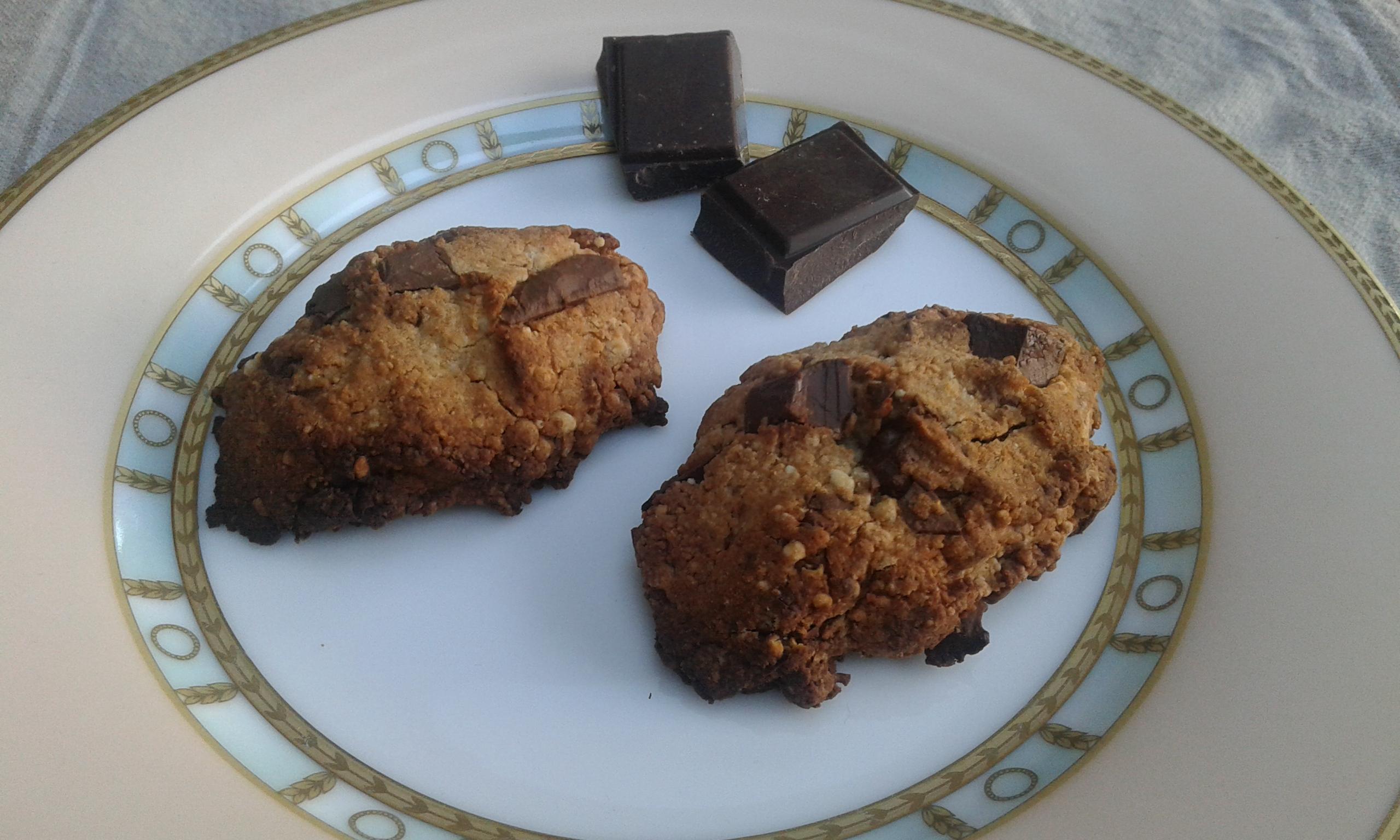 Cookies à la farine de chataigne