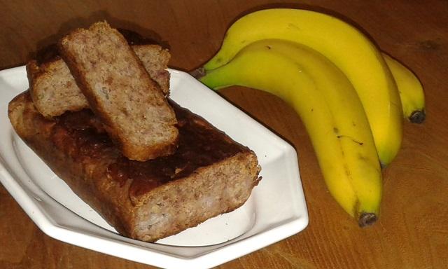 Gâteau la banane